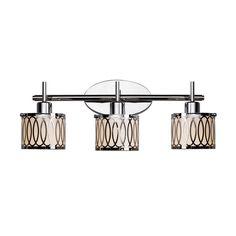 Lowe's Canada Bathroom Vanity Lighting catalina 3-light millhouse satin nickel bathroom vanity light