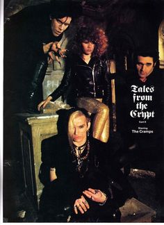 The Cramps: Lux Interior, Poison Ivy, Nick Knox and Bryan Gregory, 1979 Sound Of Music, My Music, Goth Music, Elvis Presley, The Cramps, Tales From The Crypt, Dangerous Minds, The New Wave, Rockn Roll