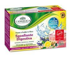 L'Angelica tisana a freddo sgonfiante e digestiva.