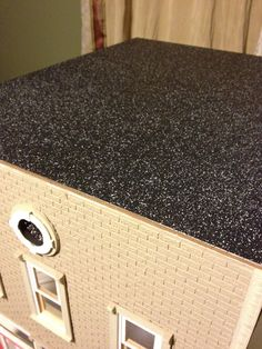 Jocelyn's Mountfield Dollhouse: Bakery Black Asphalt Roof