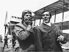 Magnificent Men in Their Flying Machines Terry-Thomas and Eric Sykes. Eric Sykes, Terry Thomas, Uk Tv, British Comedy, Comedy Tv, Just Smile, Man Humor, I Movie, Movie Stars