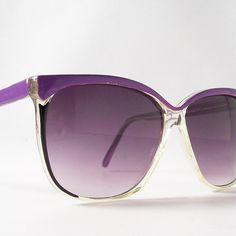 vintage sunglasses round sun glasses purple by RecycleBuyVintage, $27.00