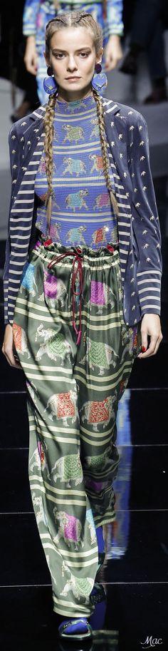 Cool Spring 2017 Ready-to-Wear Emporio Armani... Giorgio Armani Check more at http://fashionie.top/pin/31665/