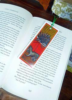 Bookmark -hand made-Echidna-Australian Animals- animals reading books-Paper Bookmark-Cute animals-Great gift by ArtiSueBee on Etsy