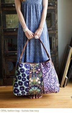 Purple Gypsy Bag: Amy Butler--love her designs and fabrics