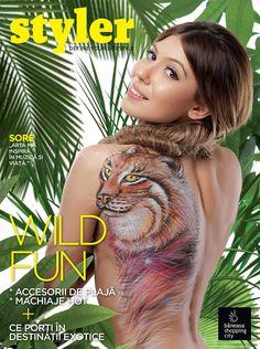 Trenduri, vedete, stil: #Styler vara 2014!  Afla din noul numar al revistei cum a devenit @Sore Mihalache panza de tablou :) http://bit.ly/StylerIunie