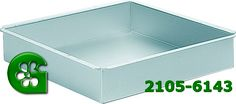 Wilton item number 2105-6143. Visit www.GalesWholesale.com for more information. Decorator Preferred� Square Pan 10 x 10 x 2in d (2. Perfect 90 degree corners give you the flawless look necessary for wedding tiers. Lifetime Warranty. A heating core (stock # 417-6100) is recommended for 10-inch diameter or larger pan.