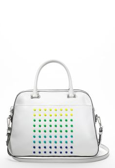 COLOR DIGITAL SATCHEL - Handbags - Shop By Category MILLY NY