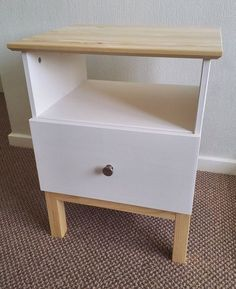 DIY idea for the IKEA TARVA nightstand