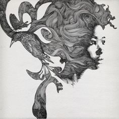 Butterfly - Illustrations by Gabriel Moreno