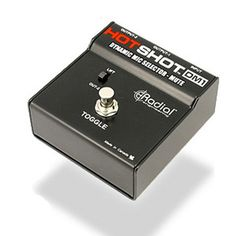 Radial DM1 HotShot Stage Mic Toggle/mute Foot Switch