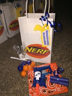 Nerf Party favor