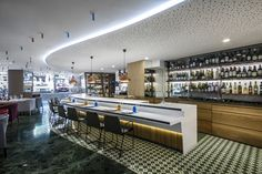 Cheese Bar at Hotel Meliá Sarriá by estudiHac designs, Barcelona   Spain  restaurant hotel hotels and restaurants bar
