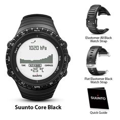 Suunto Core - Black Outdoor Sports Watch.