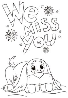 sympathy coloring pages - photo#43