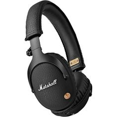 Marshall Monitor Bluetooth Headphones Black