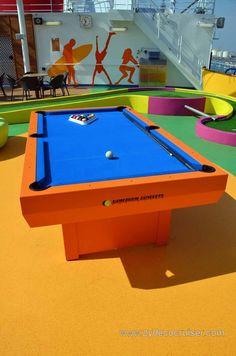 Carnival Magic Pictures Restaurant Pub Pools Cruising - Cruise ship pool table
