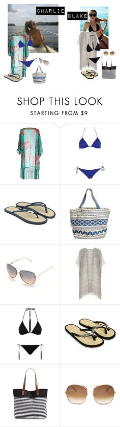 """""""Hanging Out with Blake Wentz"""" by lulugurl98 ❤ liked on Polyvore featuring Oséree, Accessorize, Rip Curl, Tahari, Dorothy Perkins, Missoni Mare, Monsoon and Chloé"""