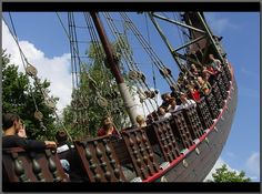 Halve Maen Rocking Ship  efteling holland