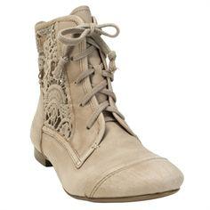 Latigo Frisbee Crochet Inset Short Boot - I hate the combat boot look buttt love these