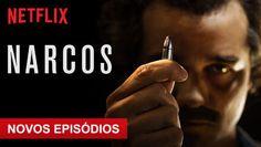 "Confira ""Narcos"" na Netflix"