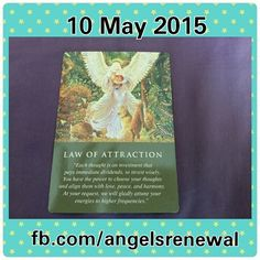 #cardoftheday is Law of attraction.today,angels want to remind us and teach us the law of attraction to help manifest our dreams.law of attraction start with your thoughts,today you are reminded to be aware of your thoughts. Positive thoughts and faith create positive outcome.you are reminded that you have the power to choose ur thoughts and make sure they are align with love,peace and harmony.thus,invest your thoughts wisely.thoughts creates reality.so start thinking all the positive things…