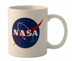 The Space Shop at Kennedy Space Center: NASA MeatBall Logo White Mug