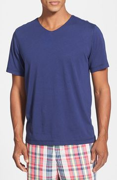 Daniel Buchler Peruvian Pima Cotton V-Neck T-Shirt available at #Nordstrom