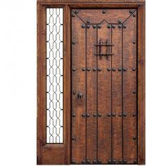 Wrought Iron Doors: Iron Doors Unlimited 62 In. Wrought Iron Security Doors, Wrought Iron Stair Railing, Wrought Iron Doors, Arched Doors, Entrance Doors, Windows And Doors, Iron Front Door, Modern Front Door, Spanish Front Door
