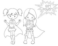 Superhero Coloring Pages | School schedule, School and Super hero ...