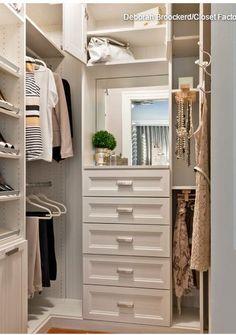 Having a stroll in walkin closet in your home Beautiful SaveEmail walk in closet design Walking Closet, Walk In Closet Design, Closet Designs, Bedroom Designs, Small Walk In Closet Ideas, Wardrobe Design, Wardrobe Ideas, Small Walkin Closet, Small Walk In Wardrobe