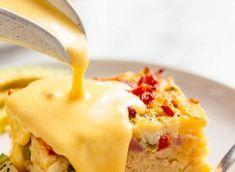 La meilleure recette de Sauce Hollandaise au monde (Super facile!) Keto Sauces, Hot Butter, Hollandaise Sauce, Main Meals, Sauce Recipes, Brunch, Food And Drink, Nutrition, Recipes