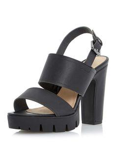 Head Over Heels Javea Cleated Platform Sandal