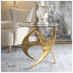 Shop this uttermost graciano 28 round antique gold end table from our top selling Uttermost living room tables. LuxeDecor is your premier online showroom for living room furniture and high-end home decor. Plywood Furniture, Table Furniture, Modern Furniture, Home Furniture, Furniture Design, Furniture Vanity, Smart Furniture, Furniture Dolly, Upcycled Furniture