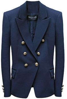 Balmain Double Breasted Milan Stitched Blazer - Get in my closet!! @Youdit Munson