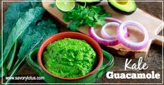 I love avocados. And I love kale. So here you go: Kale Guacamole. I can't say that I can take credit for this recipe. I have seen kale guacamole before in health food stores. But just thought I would pass on the recipe in case you had never seen it. Avocados and kale are 2 …