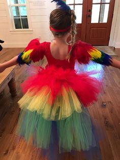 Papagei Kostüm Ara Kostüm Papagei Tutu von TheTwirl auf Etsy