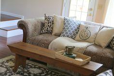 updating sofa cushions pillows