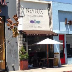 Enjoy delicious homemade sweet and savory ice cream at Neveux Artisan Creamery on Melrose Avenue in Hollywood. | Yelp http://glitteratitours.com/