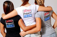 Girls Fight Team T-Shirt by LadyLynxClothing on Etsy