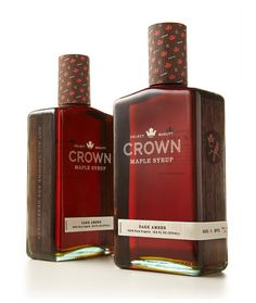 3069c9934bc Crown Maple Syrup Branding by Studio MPLS -- Beautiful branding and  packaging design