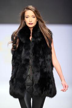 #KathyHeyndels #AW2013 Fur Coat, Jackets, Fashion, Down Jackets, Moda, Fashion Styles, Fashion Illustrations, Fur Coats, Fur Collar Coat