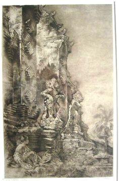 Willem Gerard Hofker (1902-1981) - Bali, 1944