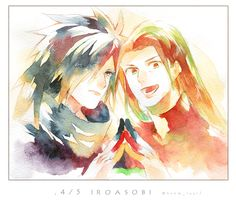 Hashirama and Madara