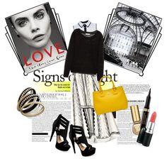 black and white sun Fashion Sets, Fashion Clothes, Thalia, Black And White, Polyvore, Style Inspiration, Sun, Design, Women