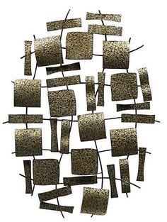 I.O. METRO Metal Wall Art #metal #art