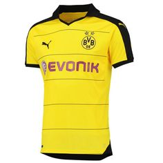 5295f5be5ab Puma Youth Borussia Dortmund Home Jersey 15 16. New Football ShirtsFootball  Is ...
