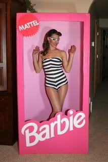 My kids are too old for this now, but this is the cutest little girl birthday idea I've seen in a long time!  Photo Booth idea! How cool would it be to have a Barbie theme party and have guests dress as their fav Barbie!