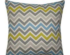 Chevron Throw Pillow - Zoom Zoom Summerland Natural Chevron Decorative Pillow Free Shipping