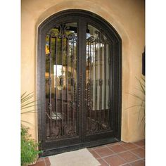 Custom Iron Doors from California Architectural Traditions